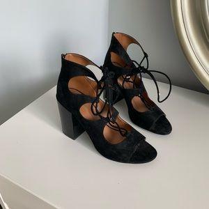 ALDO Lagarewiel Peep Toe Black 9